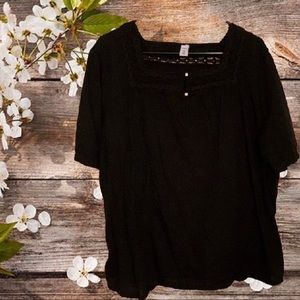 NWOT Old Navy Square Neck Flowy Top | Size 4X